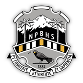 New Plymouth Boys' High crest
